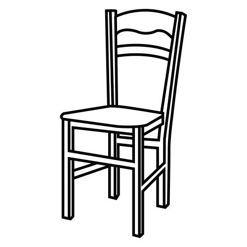 dibujo de asiento