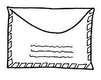 carta dibujos comunicación