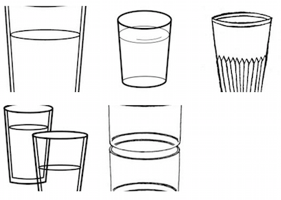 dibujos de vaso