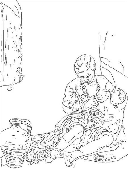 Murillo. El Mendigo Dibujo