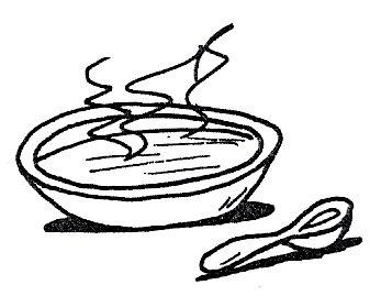 sopa para colorear
